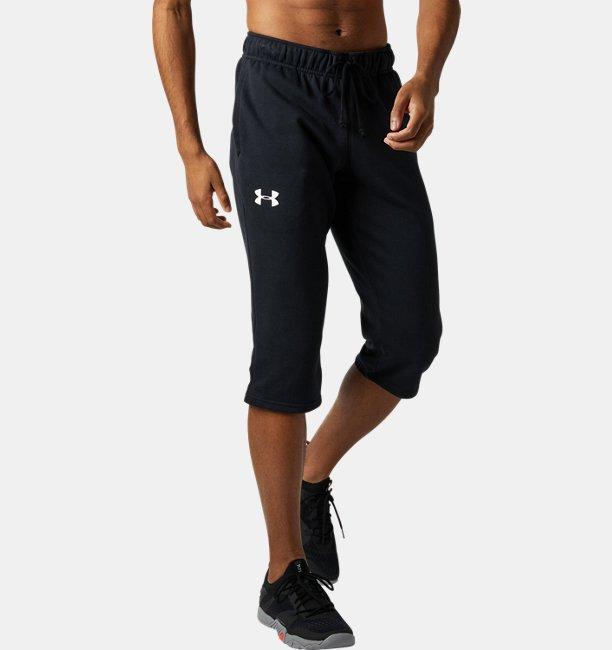 UAスポーツスタイル テリー 3/4パンツ(トレーニング/MEN)