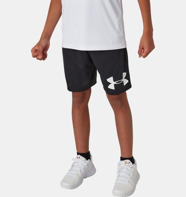 UAベースライン ロゴ ショーツ(バスケットボール/BOYS)