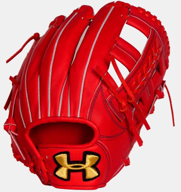 UAアンディナイアブル 硬式野球 内野手用 グラブ B(ベースボール/MEN)