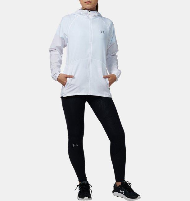 UAストレッチウーブン ソリッドジャケット(ランニング/WOMEN)