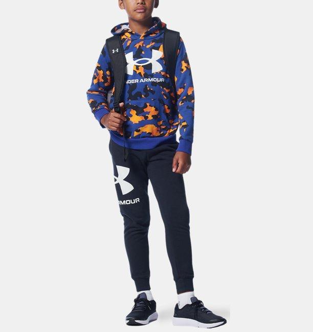 Boys UA Rival Fleece Printed Hoodie