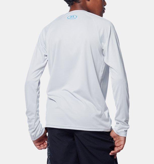 UAテック ロゴ フィル ロングスリーブ(トレーニング/BOYS)