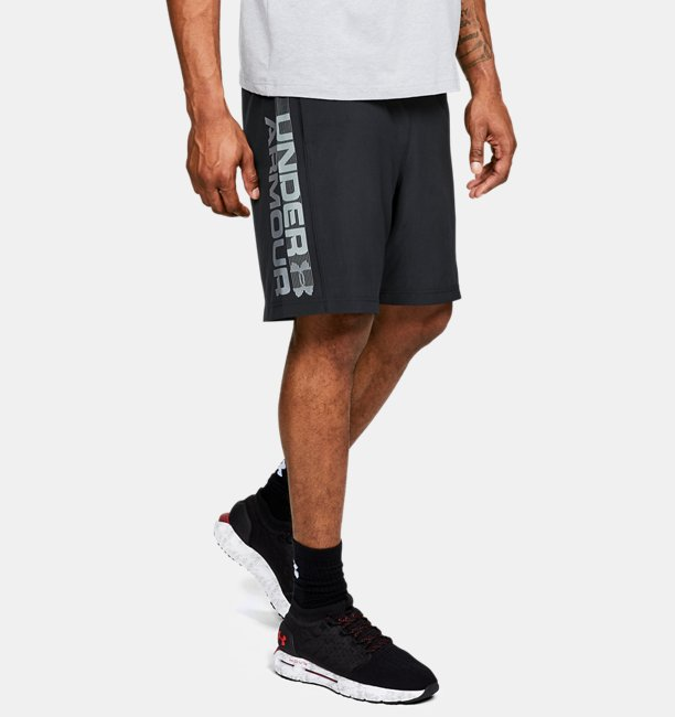 UA Woven Graphic Wordmark Shorts