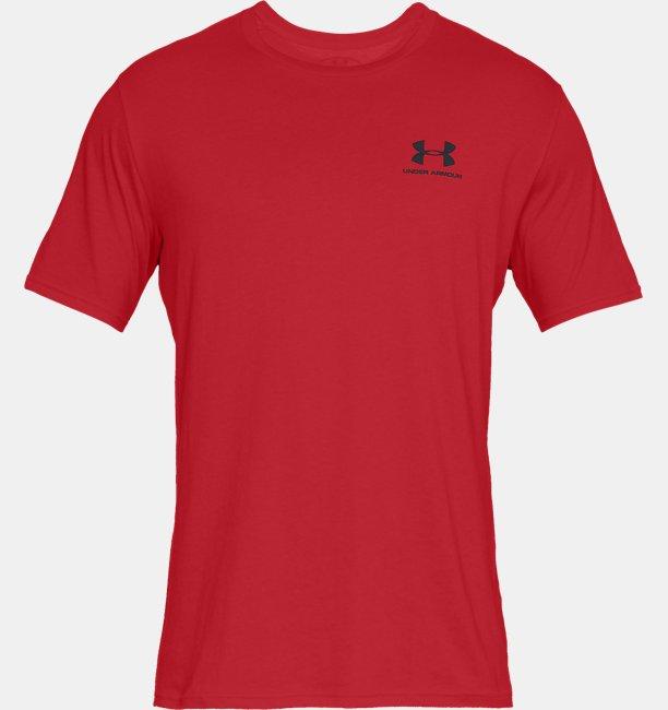 UAスポーツスタイル レフトチェスト ショートスリーブ(トレーニング/MEN)