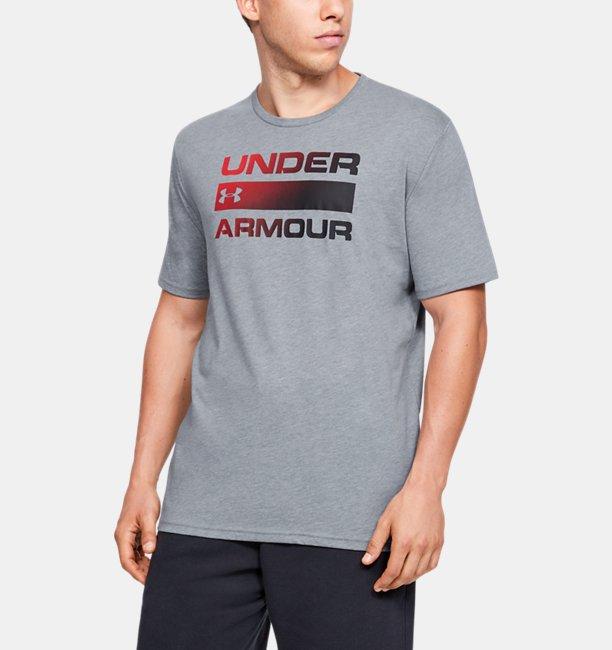 UAチーム イシュー ワードマーク ショートスリーブ(トレーニング/MEN)