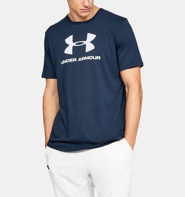 UAスポーツスタイル ロゴ ショートスリーブ(トレーニング/MEN)