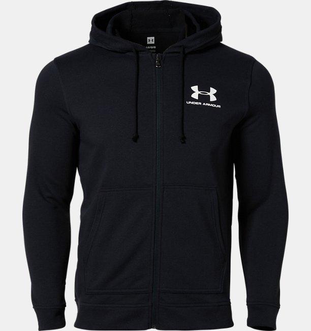 UAスポーツスタイル テリー フルジップ(トレーニング/MEN)