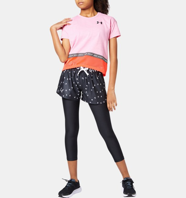 UA Armour HG Ankle Crop