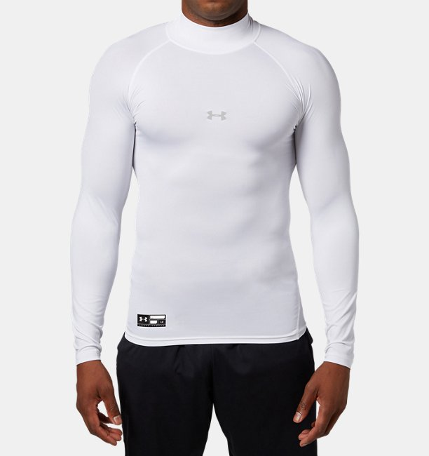 UA HG ARMOUR COMP LS MOCK PK