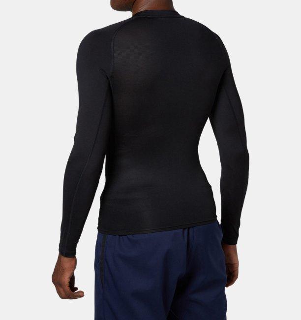 UAヒートギアアーマー コンプレッション ロングスリーブ クルー(ベースボール/MEN)