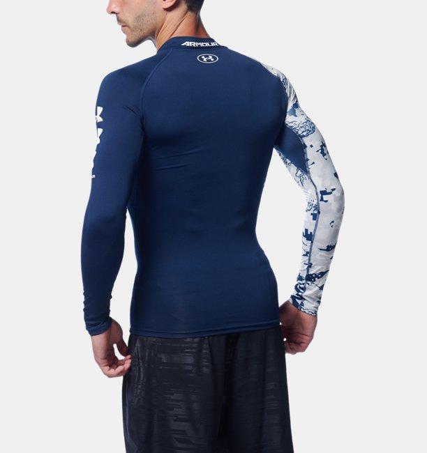 UAヒートギアアーマー ロングスリーブ ノベルティ(トレーニング/MEN)