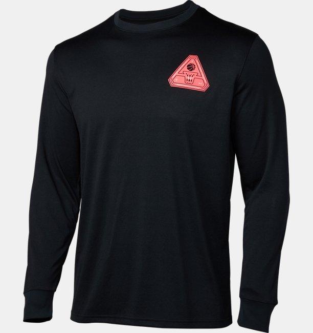 UAテック デルタ ロゴ ロングスリーブ Tシャツ(バスケットボール/MEN)