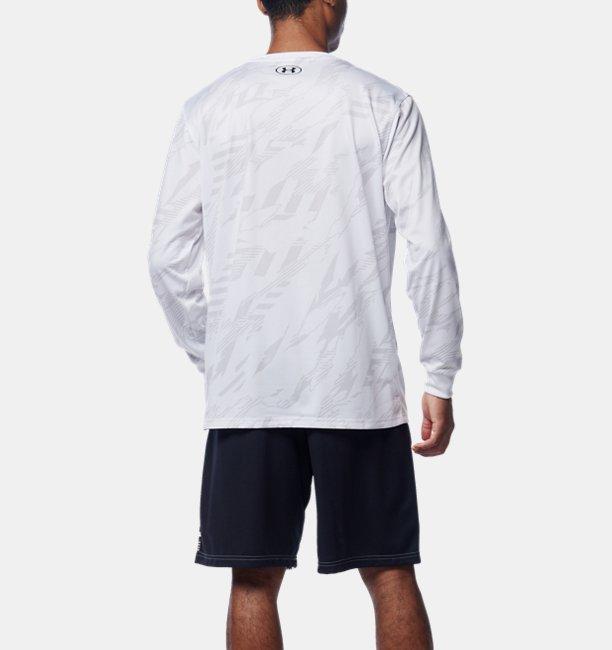 UAテック フルプリント ロングスリーブ Tシャツ(バスケットボール/MEN)