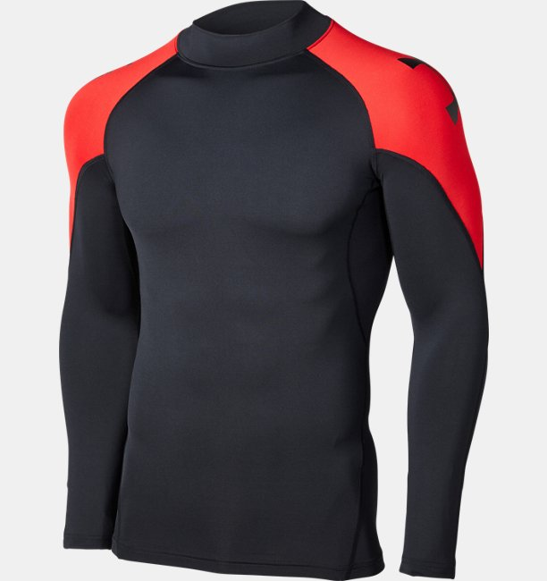 UA HG ARMOUR MOCK LS CB