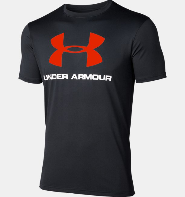 UA TECH BIG LOGO SS