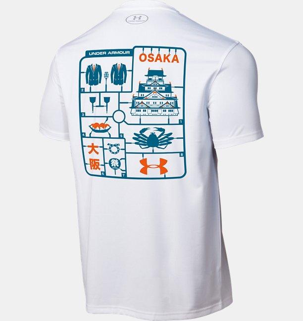 UA ブランドハウス心斎橋 OSAKAデザイン Tシャツ (トレーニング/MEN)