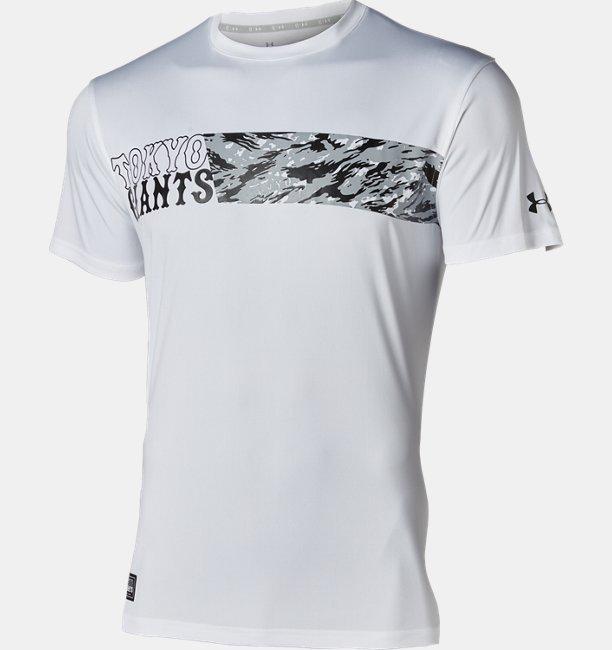 UAジャイアンツ フロント カモ Tシャツ(ベースボール/MEN)