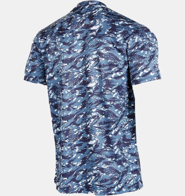 【アウトレット】UAジャイアンツ フル カモ テキスト Tシャツ(ベースボール/MEN)