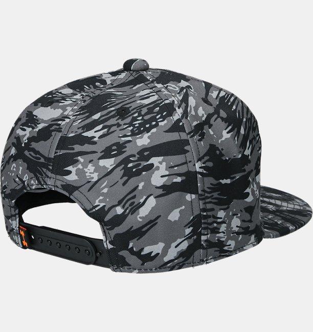 UA GIANTS FLAT CAP CAMO