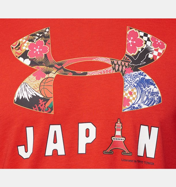 UA JAPAN BIG LOGO TEE 20