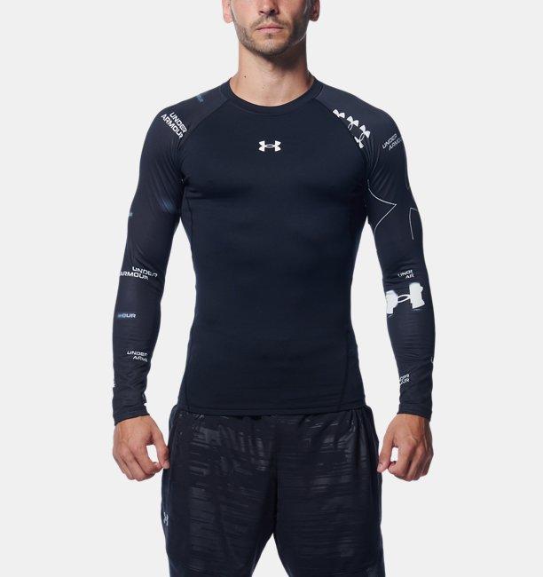 UAコールドギアアーマー ロングスリーブ クルー ノベルティ(トレーニング/MEN)