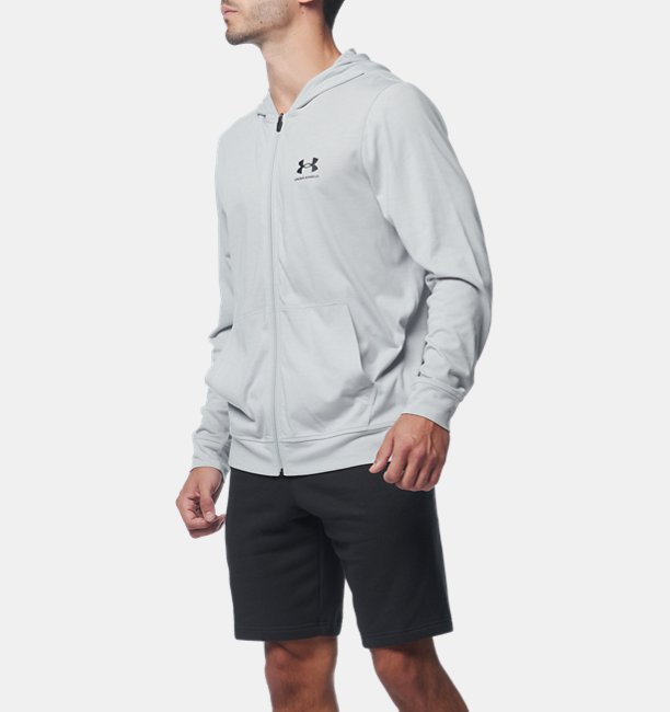 UA Charged Cotton FZ Hoodie