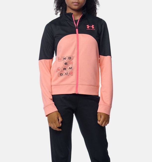 UA トラックジャケット(トレーニング/GIRLS)