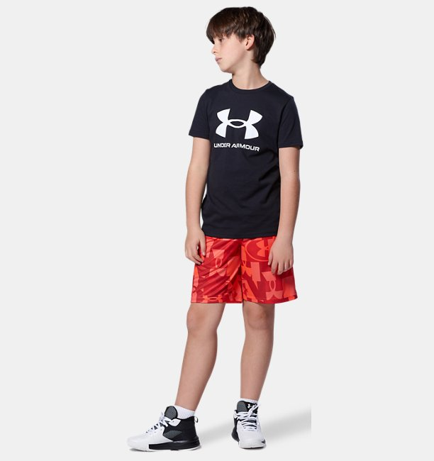 UAスポーツスタイル ロゴ ショートスリーブ(トレーニング/BOYS)