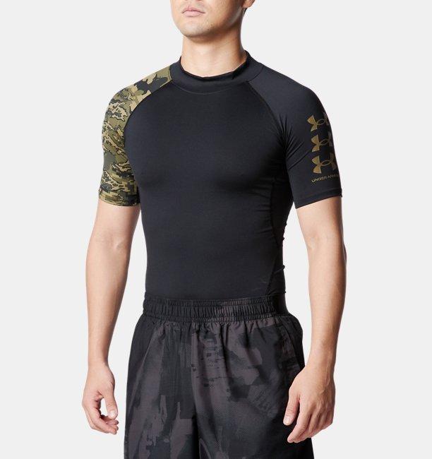 UAヒートギアアーマー ショートスリーブ ノベルティ(トレーニング/MEN)