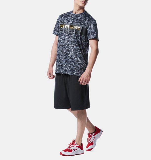 UA GIANTS CAMO TEE Aug.