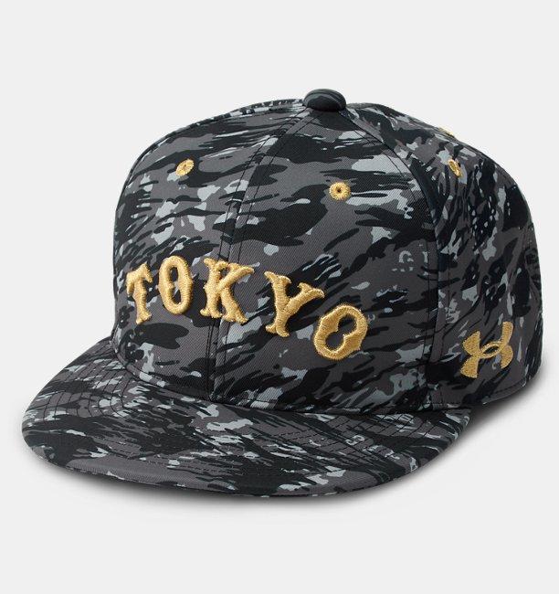 UA GIANTS CAMO FLAT CAP