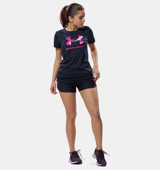 UAテック ビックロゴ Tシャツ(トレーニング/WOMEN)