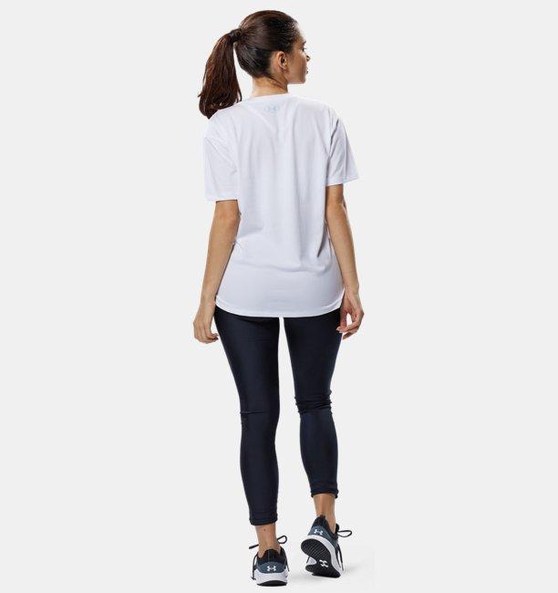 UAテック ボックス グラフィック Tシャツ(トレーニング/WOMEN)