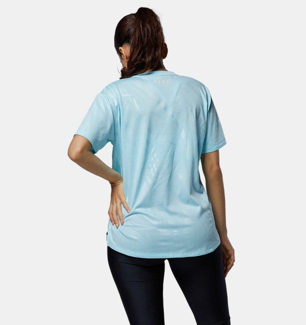 UAテック ボックス プリントTシャツ(トレーニング/WOMEN)