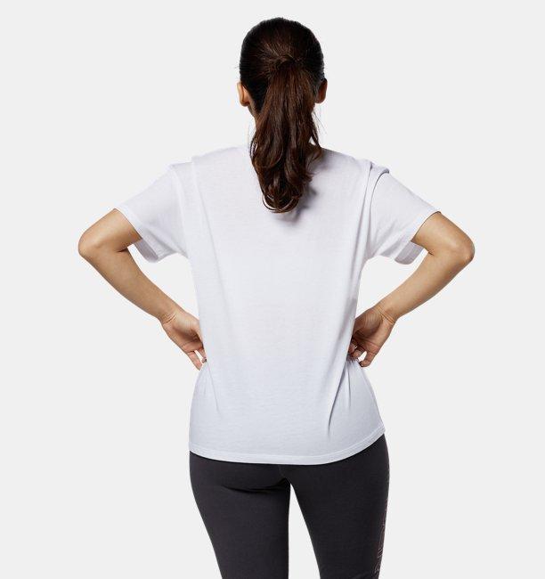 UAコットン ボックス グラフィック Tシャツ(トレーニング/WOMEN)