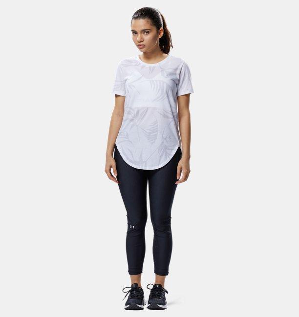 UAデザイン プリント Tシャツ(トレーニング/WOMEN)