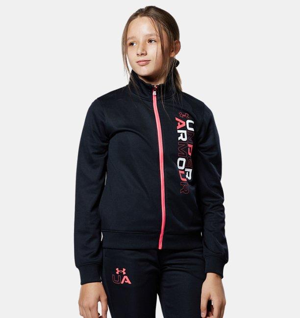 UAガールズ トラックジャケット(トレーニング/GIRLS)