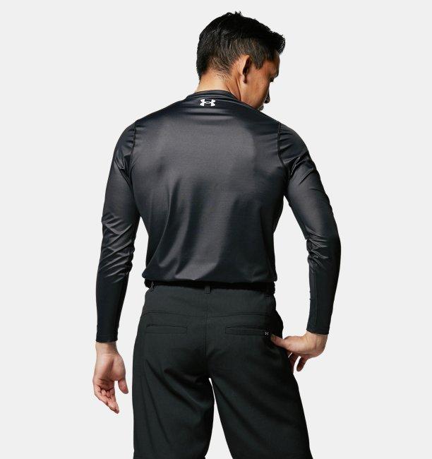 UAアイソチル フィッティド ロングスリーブ Vネック(ゴルフ/MEN)