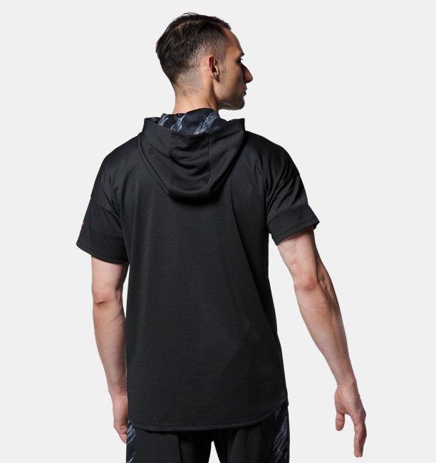 UA BB Short Sleeve Hoody