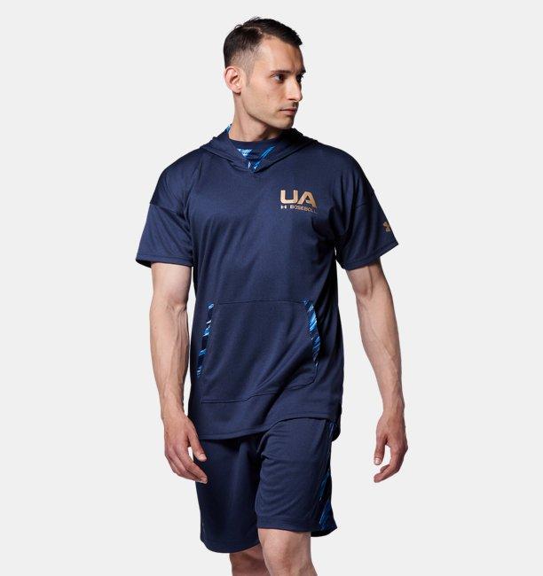 UAベースボール ショートスリーブ フーディー(ベースボール/MEN)