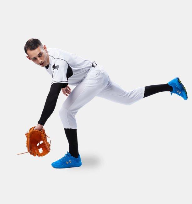 UAバニッシュ ベースボール パンツ ショートフィット(ベースボール/MEN)