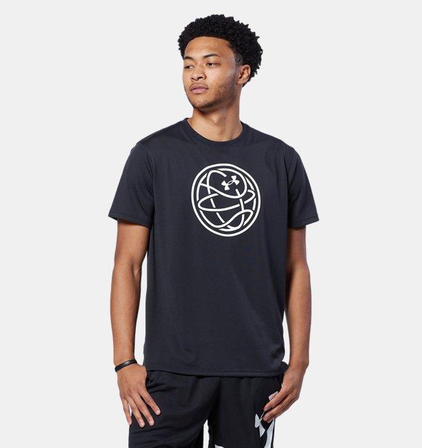 UAテック バスケットボール アイコン Tシャツ(バスケットボール/MEN)