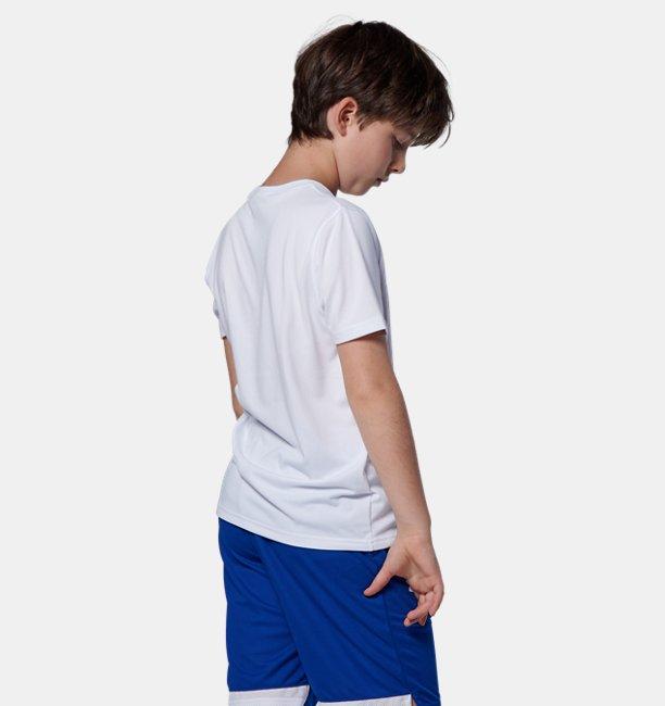 UAユース テック ワールド ロゴTシャツ(バスケットボール/BOYS)