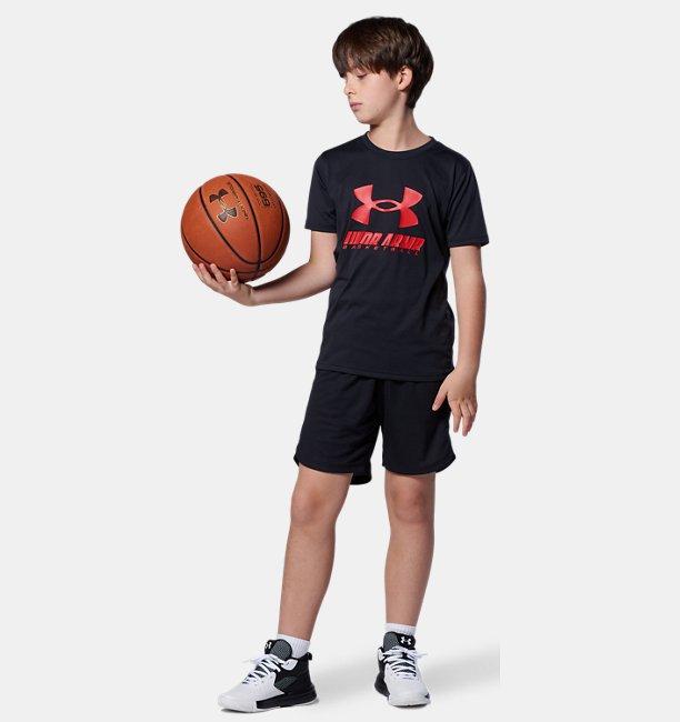 UAユース ビッグロゴ ショーツ(バスケットボール/BOYS)