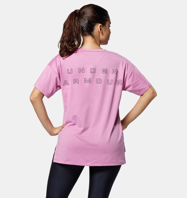UAテック ベント Tシャツ(トレーニング/WOMEN)