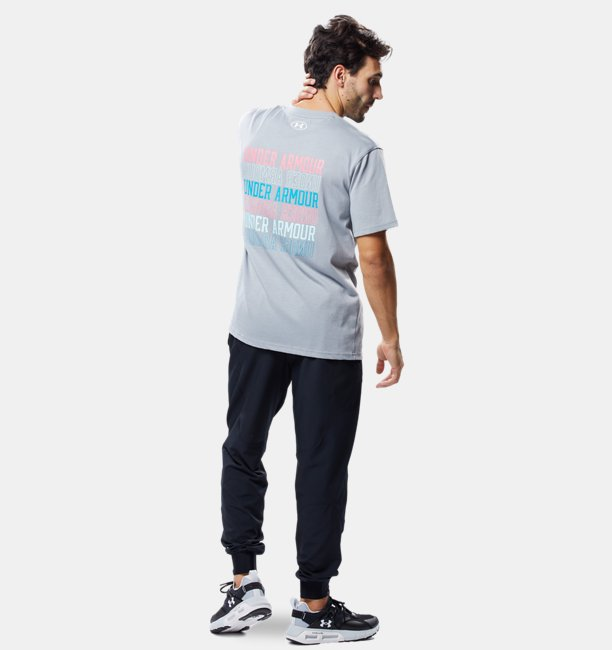 UAヘビー ウエイト チャージドコットン グラフィック Tシャツ(トレーニング/MEN)