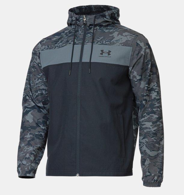 UAスポーツスタイル カモ ウインドブレイカー(トレーニング/MEN)