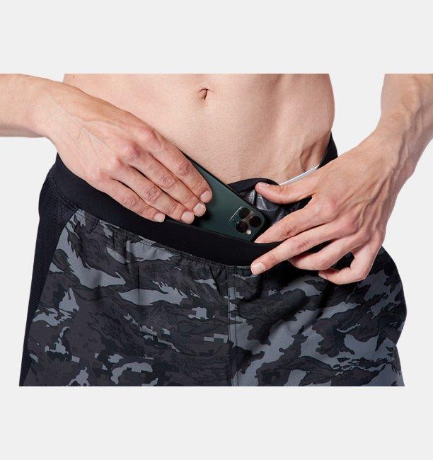 UAスピードポケット プリント 7 ショーツ(ランニング/MEN)