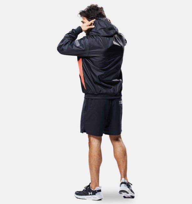 UAフーディ ウーブン ジャケット(トレーニング/MEN)