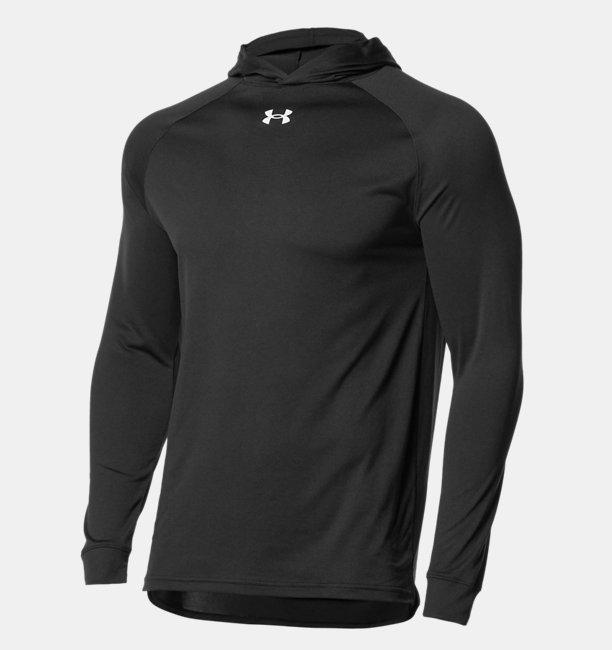 UAテック ロングスリーブ フーディー Tシャツ(バスケットボール/MEN)